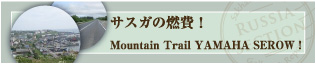 サスガの燃費!MountainTrial YAMAHA SEROW!