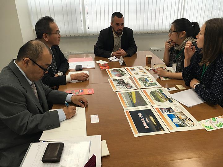 北海道物産展 商談会