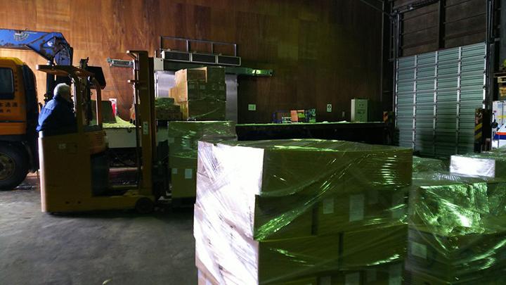ロシア北海道物産展 通関・保税蔵置